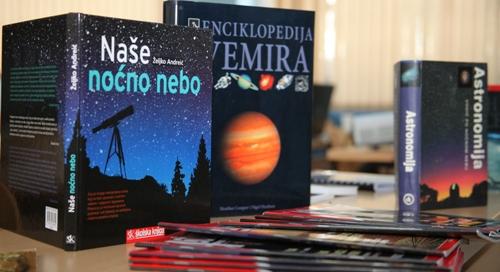 Izvannastavna aktivnost iz astronomije odvija se po 1 sat tjedno